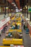 De zaal van de markt Stock Foto