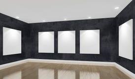 De zaal van de museumtentoonstelling Stock Afbeeldingen