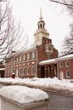 De Zaal van de onafhankelijkheid, historisch oriëntatiepunt in Philadel stock foto