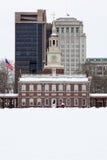 De Zaal van de onafhankelijkheid, historisch oriëntatiepunt in Philadel royalty-vrije stock afbeelding