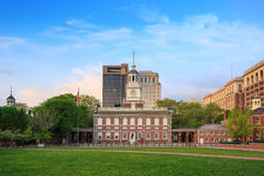 De Zaal van de onafhankelijkheid in Philadelphia stock foto