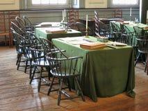 De Zaal van de onafhankelijkheid in Philadelphia Pennsylvania stock fotografie