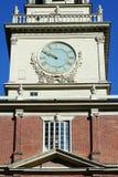 De Zaal van de Onafhankelijkheid van Philadelphia Stock Foto's