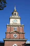 De Zaal van de Onafhankelijkheid van Philadelphia Royalty-vrije Stock Afbeelding