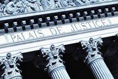 De zaal van de rechtvaardigheid Stock Foto's