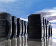 De Zaal van de server Stock Foto