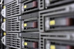 De Zaal van de server Stock Foto's