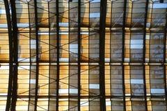 De zaal van de spoorweg Royalty-vrije Stock Fotografie