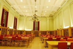 De Zaal van de studie van Universitaire Bibliotheek Royalty-vrije Stock Foto's