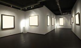 De zaal van de tentoonstelling Royalty-vrije Stock Foto's