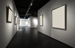 De zaal van de tentoonstelling Stock Afbeeldingen
