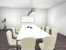 De Zaal van de vergadering Stock Afbeeldingen