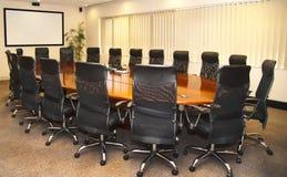 De Zaal van de vergadering Royalty-vrije Stock Fotografie
