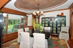 De Zaal van Dinning Stock Afbeeldingen