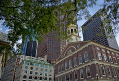 De Zaal van Faneuil, Boston royalty-vrije stock foto