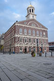 De zaal van Faneuil in Boston Royalty-vrije Stock Foto's