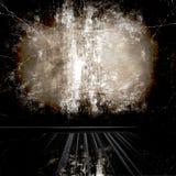 De Zaal van Grunge stock illustratie