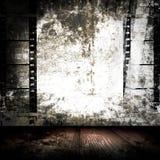 De Zaal van Grunge van de Stroken van de film Royalty-vrije Stock Afbeelding