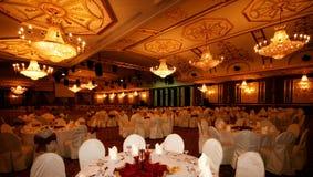 De zaal van het banket Royalty-vrije Stock Fotografie