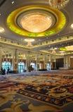 De zaal van het het hotelbanket van de luxe stock afbeeldingen