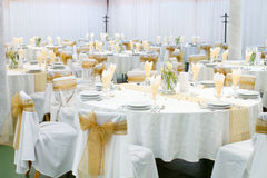 De zaal van het huwelijk Royalty-vrije Stock Fotografie