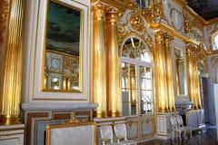 De Zaal van het Paleis van Yekaterinksy Stock Afbeelding