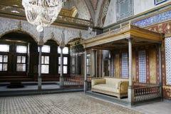 De zaal van het publiek in Topkapi Stock Afbeelding