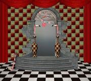 De zaal van het sprookjesland royalty-vrije illustratie