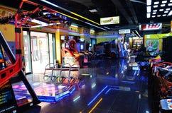 De zaal van het videospelletje Stock Afbeeldingen