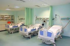 De zaal van het ziekenhuis stock fotografie