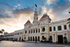 De zaal van Ho-Chi-Minh-Stad Royalty-vrije Stock Fotografie