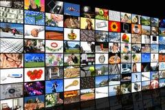 De Zaal van media Royalty-vrije Stock Foto's