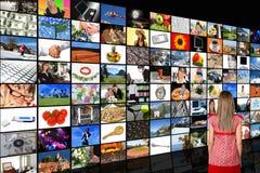 De Zaal van media Royalty-vrije Stock Foto