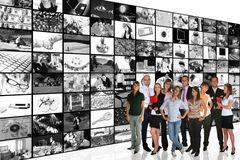 De Zaal van media Royalty-vrije Stock Fotografie