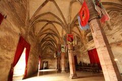 De zaal van ridders Royalty-vrije Stock Foto's