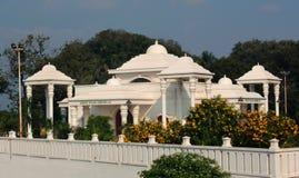 De zaal van TheKarikalacholan Manimandapam- in Grote Kallanai wordt gesitueerd die royalty-vrije stock foto's
