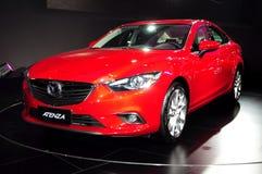 De zaalauto van Mazda ATENZA Stock Foto's