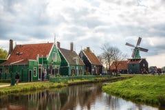 De Zaanse Schans Images stock