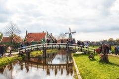 De Zaanse Schans Photographie stock