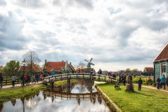 De Zaanse Schans Photos libres de droits