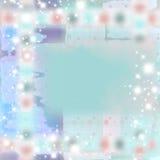 De zachte Abstracte Achtergrond van Grunge van de Fonkeling vector illustratie