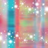 De zachte achtergrond van de de kleuren grungy prinses van het fonkelingswater Royalty-vrije Stock Afbeelding