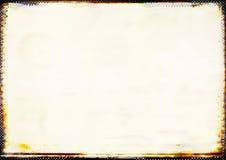 De zachte achtergrond van de pastelkleur met gebrande grens Stock Foto