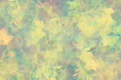 De zachte groene marmeren effect achtergrond van het behangontwerp Stock Foto's