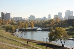 De zachte herfst in Moskou Royalty-vrije Stock Fotografie