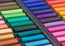 De zachte pastelkleuren sluiten omhoog Stock Foto's