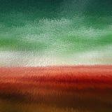 De zachte rode en Groene kleur drijft Achtergrondsamenvatting uit stock illustratie