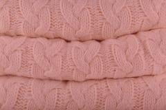 De zachte Rose Pantone-herfst-winter 2018-2019 van manierkleuren breit stock afbeeldingen