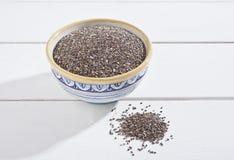 De zaden van Chia Stock Fotografie