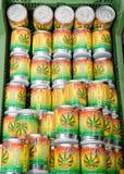 De zaden van de cannabis royalty-vrije stock afbeelding